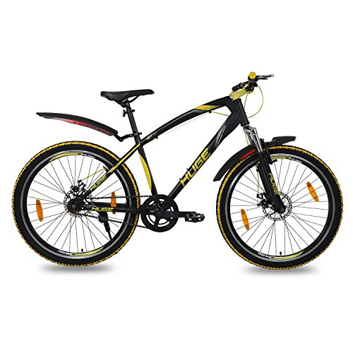 Huge HDT-50 Single Speed 26T Steel Bicycle for Boys/Girls Above 11...