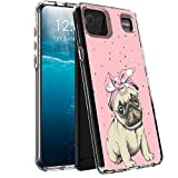 for LG K92 5G Case,for LG K92 5G Phone Case, BEROSET Dual Layer Hard Acrylic Back+Soft TPU Case Shockproof High Impact Protective Clear Phone Case for LG K92 5G 2021- CutePugDog