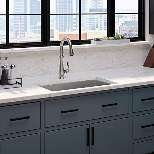 KOHLER K-560-VS Bellera Kitchen Faucet, Vibrant Stainless