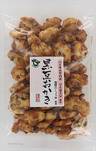 植垣米菓  黒豆おかき醤油  105G×15袋