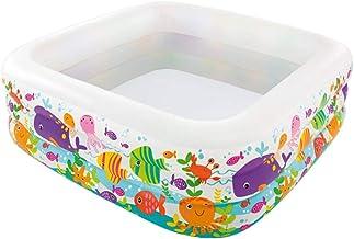 YUESFZ Piscinas hinchables Piscinas Hinchables Adultos Piscina Infantil Hinchable para El Hogar Barril De Aguas Termales Engrosadas para Adultos Estanque De Pesca Infantil Inflable
