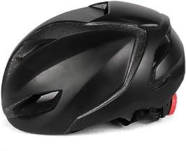 LIUDATOU Casco de Bicicleta Rojo neumático Casco de Bicicleta de Carretera Casco aerodinámico Equipos de Carrera para Adultos Casco de Ciclismo