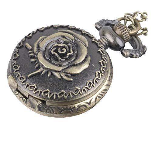 81stgeneration Collar Colgante Reloj de Bolsillo Analógico