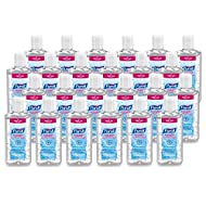 PURELL Advanced Hand Sanitizer Refreshing Gel for First Aid Providers, 4 fl oz Flip-Cap Bottle (Pack of 24) - 9651-24