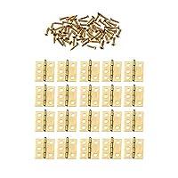 YSDHE 20枚18 *宝石箱の家具ハードウェアのための16ミリメートルのミニキャビネットヒンジ家具継手装飾小さなドアの蝶番