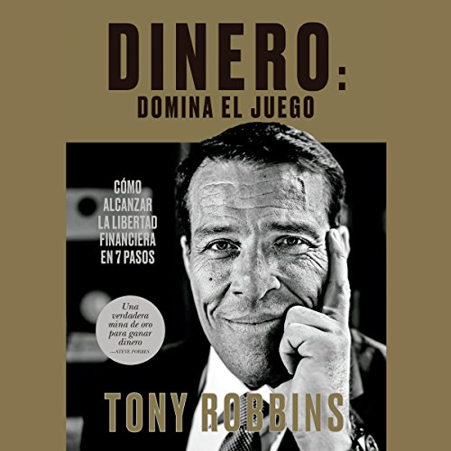 Dinero: domina el juego                   Written by:                                                                                                                                 Tony Robbins,                                                                                        Juan Manuel Salmerón Arjona - translator                               Narrated by:                                                                                                                                 Miguel Coll                      Length: 26 hrs and 6 mins     1 rating     Overall 5.0