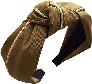 🇨🇦🇨🇦Women's Headband Hairband Bow Knot Cross Tie Velvet Hair Band Accessories