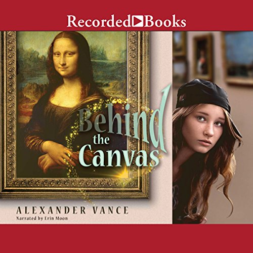 Behind the Canvas audiobook cover art