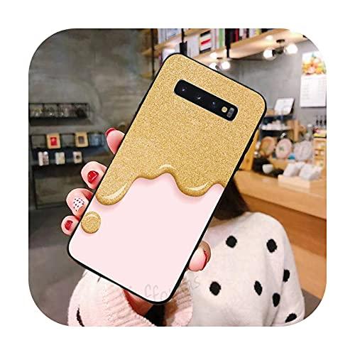 Lindo y personalizado chocolate mermelada teléfono caso para Samsung A50 A51 A71 A20E A20S S10 S20 S21 S30 Plus ultra 5G M11 funda shell-a6-samsung a71 4G