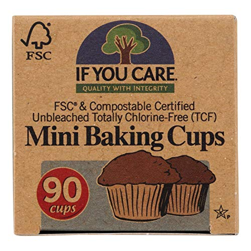 If You Care Baking Cup Mini 90 Pc