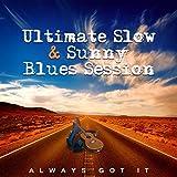 Acoustic Guitar in Blue