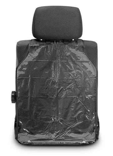Reer 74506 Schutzfolie, Zuverlässiger Schutz vor Schmutz und Abnutzung der Rückseite von Fahrer - und Beifahrersitz im Auto