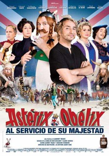 Astérix Y Obélix: Al Servicio De Su Maje...