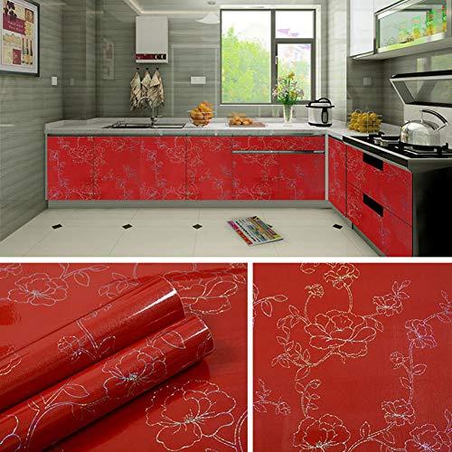 KUNHAN Tegel sticker Thicken huis keuken olie stickers waterdichte kachel kast badkamer tegel oude meubels renovatie marmeren stickers