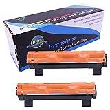 Cartucho de tóner TN-1050 TN-1060 TN-1000 Compatible con las impresoras de la serie Brother HL-1110 HL-1112 HL-1212 HL-1210 DCP-1510 DCP-1610 DCP-1612 DCP-1512 MFC-1810 MFC-1910-2-pack