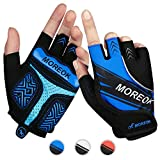 Achiou Cycling Bicycle Gloves Half Finger Mountain Bike Road Racing Gloves Gel Pad Outdoor Sports...