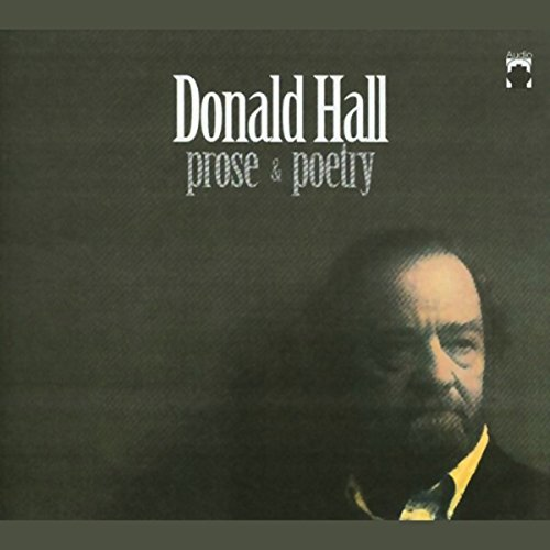Donald Hall audiobook cover art