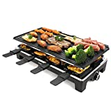 Best electric grill - Techwood Raclette Grill Raclette Party Grill Electric BBQ Review