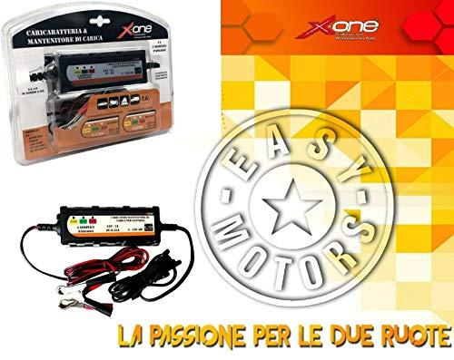 Oplader en onderhoudslader voor het automatisch opladen van de accu EF035 6 V en 12 V 4-120 Ah CAGIVA ALA AZZURRA GT 650 84>