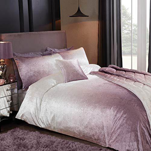 Sleepdown Ombre - Set di biancheria da letto con copripiumino e federe, 220 x 260 cm, colore: Rosa