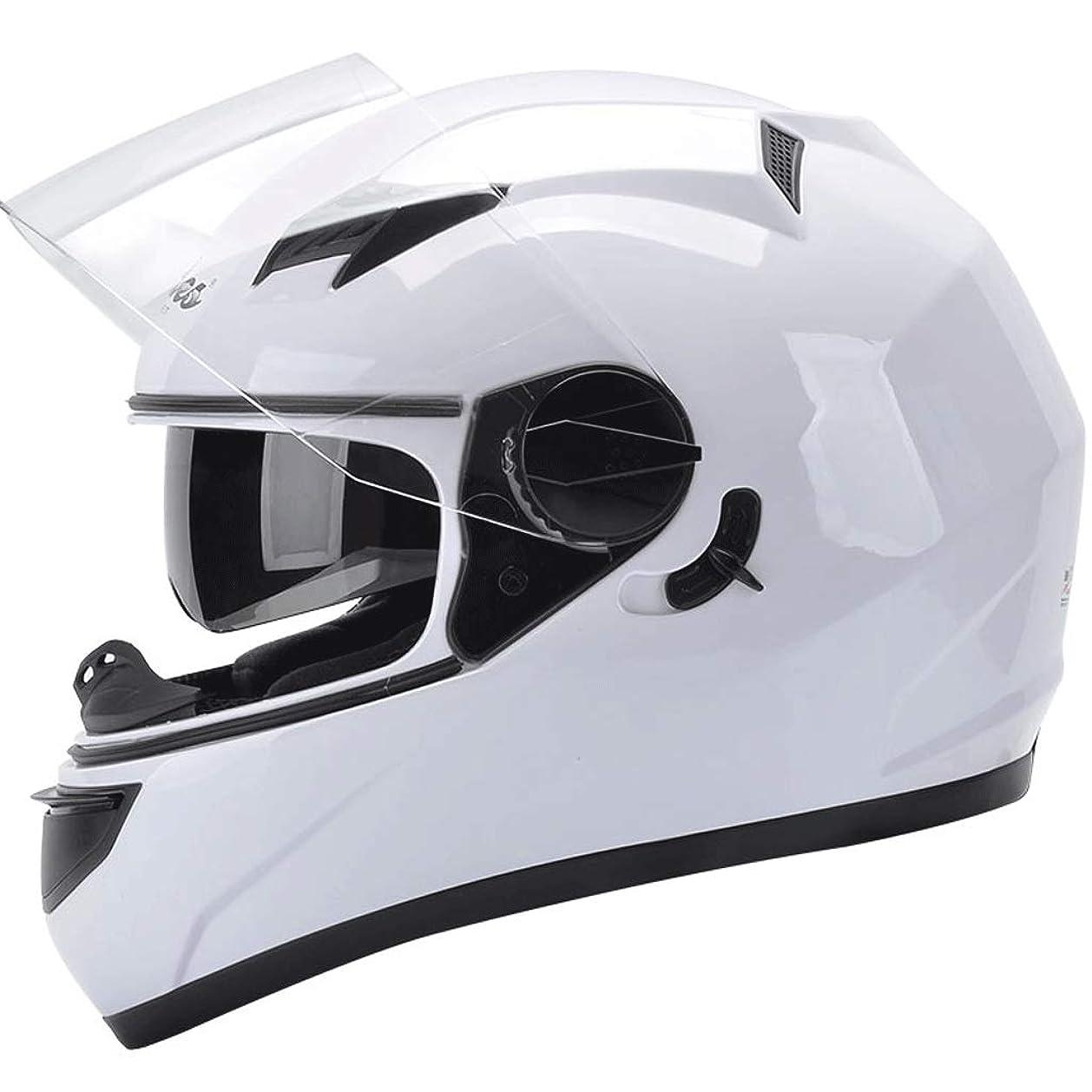 抜本的な探すどちらもHLM ヘルメット- 電動バイクのヘルメット男性のバッテリー車の女性四季冬フルフェイスヘルメット暖かいヘルメット防曇 (色 : F f, サイズ さいず : One size)