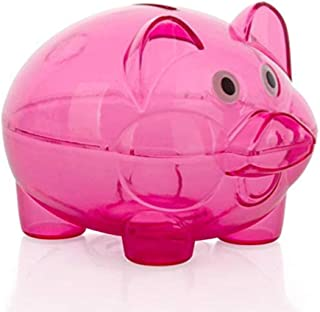 SJXmeet Piggy Bank for Boys Money Banks Large Not Desirable 365 Plan Erasable Pen High Capacity Wooden Box Three Sides Lettering