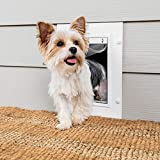 PetSafe Wall Entry Pet Door with Telescoping Tunnel,...