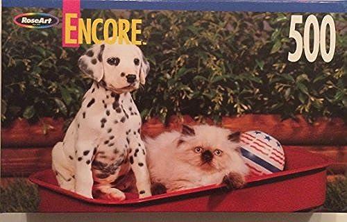 Encore 500 Piece Puzzle Nikko and Spot by Encore