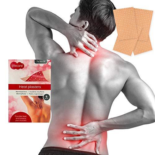Wärme-pflaster Rücken- Nacken- Schmerzen/Verspannung 10x7cm Capsicum & Menthol (4)
