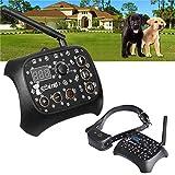 QXbecky 1/2/3Recinzione Elettronica per Cani Ricarica Wireless Sistema di contenimento per Animali Domestici Collare da addestramento per Cani miglior Prezzo