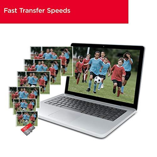 SanDisk Ultra 400 GB microSDXC Speicherkarte + SD-Adapter mit A1 App-Leistung bis zu 120 MB/s, Klasse 10, U1