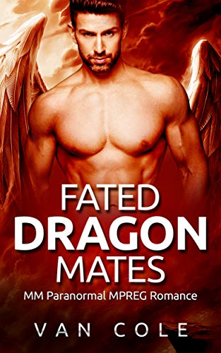 Fated Dragon Mates: MM Paranormal MPREG Romance (English Edition)