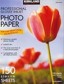 Kirkland Signature Professional Glossy Inkjet Photo Paper 8.5