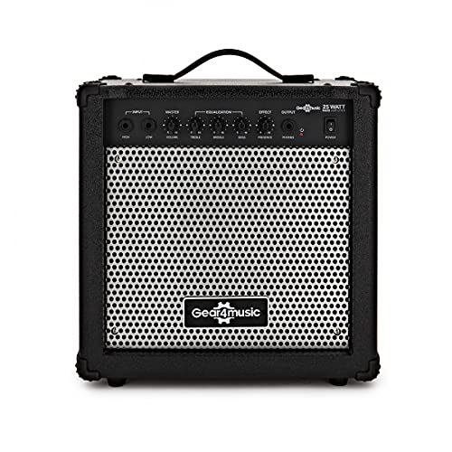 25W Electric Bass Amp by Gear4music