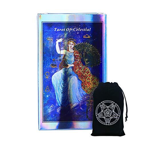 STFUSA Juego De Fiesta De Mazo De Tarot Celestial Y Paquete Especial De Tarot Juego De Póquer De Bolsillo De Entretenimiento