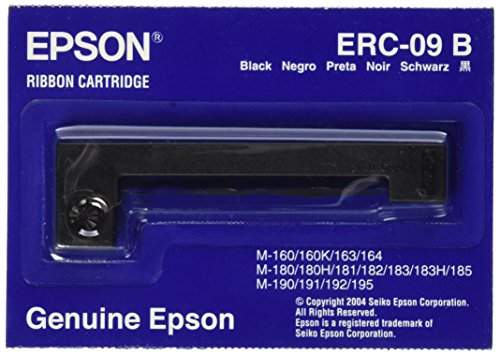 Epson BLACK RIBBON CASSETTE FOR M-160 ( ERC-09B )