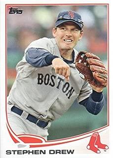 2013 Topps Update Baseball #US84 Stephen Drew Boston Red Sox