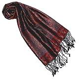 Lorenzo Cana Seidenschal für Frauen Schal 100% Seide gewebt Damenschal elegant Paisley Muster Mehrfarbig 7818877