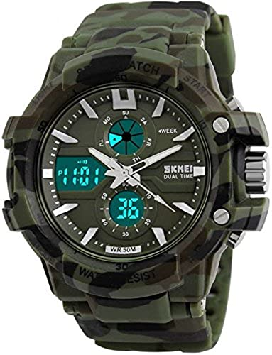 Generic Analogue Digital Camouflage Dial Men s Watch Ad0990 Military
