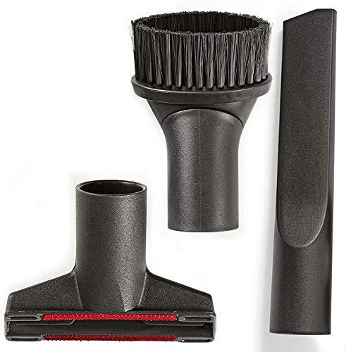 Maxorado Juego de boquillas de 35 mm para aspiradora de cepillo muebles boquilla tapicería juntas adaptador aspiradoras industriales Dirt Devil Bosch Siemens Einhell Kärcher Miele Tubo Accesorios