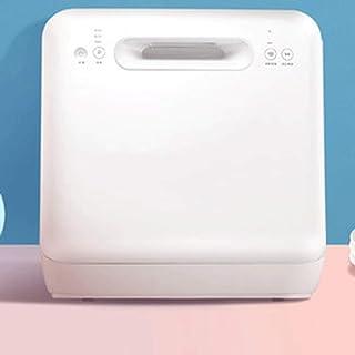ZXCVB Lavavajillas, pantalla mini lavavajillas, ecológico, rápido, desinfección y vidrio, necesidades de agua, LED, la operación de control táctil,