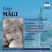 Orchestral Music by ESTER M脛GI (2007-04-10)