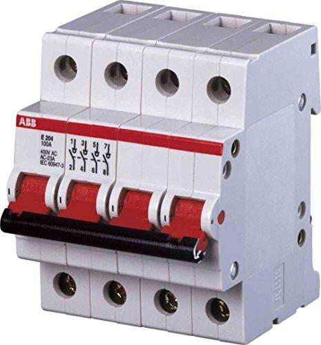 ABB Stotz S&J Hauptschalter E204/63G 63A 4p. gr System pro M compact Schalter für Reiheneinbau 4016779646253