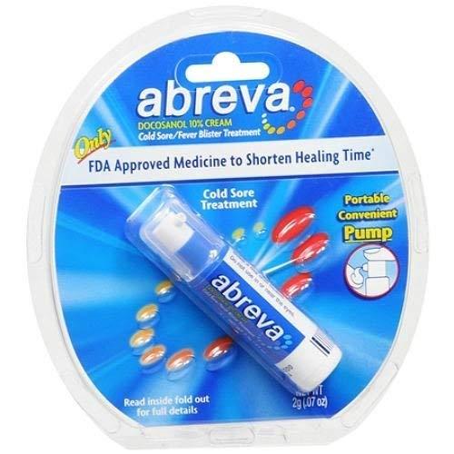 Abreva Cold Sore/Fever Blister Treatment.07-Ounce Pump