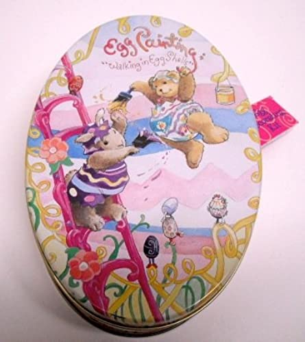 Muffy Vanderbear Egg Painting  Walking in Eggshells Egg Decorating Kit by North American Bear