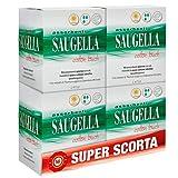 Saugella Saugella Cotton Touch Assorbenti Esterni Giorno Ad Azione Antiodore Con Ali In Cotone Ipoallergenici 56 Pezzi - 80 g