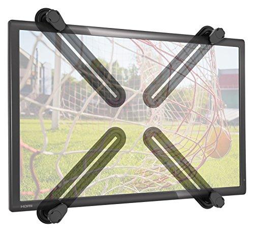 RICOO VA0500, VESA Adapter-Platte TV Wand-Halterung, Flachbild-Fernseher ohne VESA, LED LCD Bildschirm Wand-Halter, Monitor-Halterung | 4-teilig