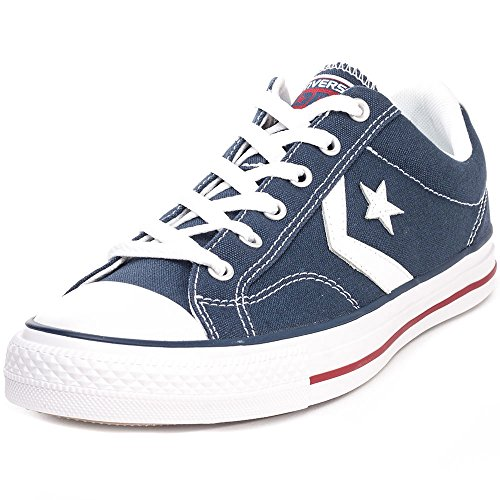 Converse Star Player Adulte Core Canvas Ox - Zapatillas deportivas, unisex, Azul, 42