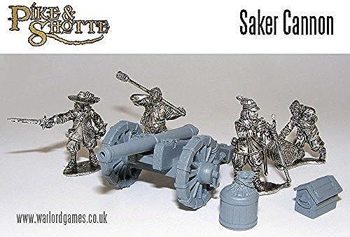 envío gratuito a nivel mundial Pike & Shotte  English Civil War War War Saker Cannon & Crew by Warlord Games  nueva marca