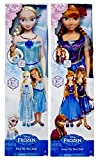 Includes TWO Dolls: Disney Frozen Queen Elsa and Princess Anna Sister Dolls Huge 38 inches Tall She will enjoy hours of fun playing alongside these life size Elsa and Anna My Size Dolls! Standing over 3 feet tall these special 2014 limited edition ex...